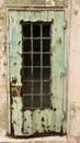 Rusty Door At Alcatraz Royalty Free Stock Photo
