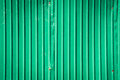 Rusty galvanized steel for texture green background. Royalty Free Stock Photo