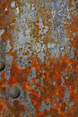 Rusty Grunge Texture of Steel Bridge Stock Photos