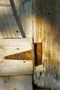 Rusty hinge Royalty Free Stock Photography
