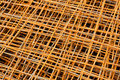 Rusty iron net Royalty Free Stock Images