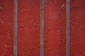 Rusty iron railings Royalty Free Stock Photo