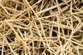 Rusty iron rods closeup Royalty Free Stock Photography