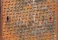 Rusty Manhole Cover Royalty Free Stock Photo