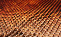 Rusty mesh background Royalty Free Stock Photo