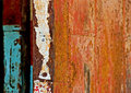 Rusty metal doors Royalty Free Stock Photos