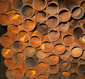 Rusty metal pipes Royalty Free Stock Photo