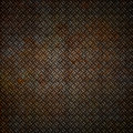 Rusty Metal Plate Background Royalty Free Stock Image