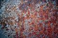 Rusty metal texture Arkivfoton
