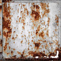 Rusty metallic frame texture Royalty Free Stock Photo