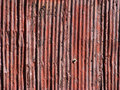 Rusty Old Aluminum Siding Royalty Free Stock Photo