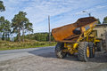 Rusty old dump truck Stock Photo