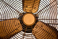 Rusty old room fan Royalty Free Stock Photo