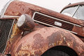 Rusty old vintage truck close up of a pick up Royalty Free Stock Image