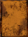 Rusty paper - background Royalty Free Stock Photography