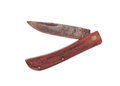 Rusty pocket knife isolated Royalty Free Stock Photo