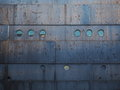 Rusty steel ship hull Royalty Free Stock Photo