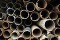 Rusty Steel Tubes  Royalty Free Stock Photo
