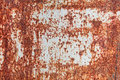 Rusty surface heavy corroded metal as background or texture Royalty Free Stock Photo