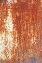 Rusty surface heavy corroded metal as background or texture Stock Photo