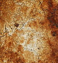Rusty texture with scratches Stock Photography