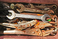Rusty tools Royalty Free Stock Image