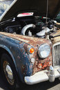 Rusty vintage classic collectors Royalty Free Stock Photo