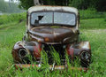 Rusty vintage truck Stock Image