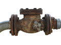 Rusty Water Valve Royalty Free Stock Photo