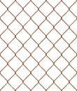 Rusty wire mesh seamless pattern Royalty Free Stock Photo