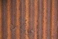 Rusty zinc texture and background Stock Photos