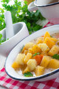 Rutabaga soup a fresh and tasty Royalty Free Stock Photos