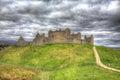 Kasárne škótsko spojené kráľovstvo v obrázok s vysokým dynamickým rozsahom