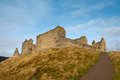 Ruthven Barracks, Scotland Royalty Free Stock Photo
