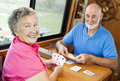 RV Seniors - Playing Cards Stock Image