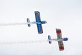 Rv tors aerobatics team at the blackpool air display Stock Photos
