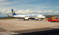 Ryan air airplaine
