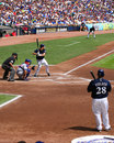 Ryan braun batting Stock Images
