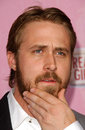 Ryan gosling at the premiere of lars and the real girl academy of motion picture arts and sciences beverly hills ca Royalty Free Stock Photos