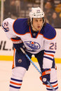 Ryan Jones Edmonton Oilers Royalty Free Stock Photos