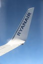 Ryanair plain wing