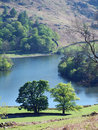 Rydal Water in Spring sunlight Royalty Free Stock Photo