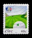 Ryder Cup 1927-2006 The K Club, Ryder Cup Golf Tournament, Staffan, Co. Kildare (1st issue) serie, circa 2006 Royalty Free Stock Photo