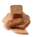 Rye bread on a board Royalty Free Stock Image