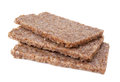 Rye bread slices Royalty Free Stock Photos