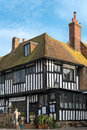 Rye east sussex uk march view of the parlour aand firepl fireplace bar in on Royalty Free Stock Photos