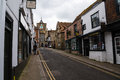 Rye streets sussex uk x Royalty Free Stock Photo