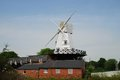 Rye Windmill Royalty Free Stock Photo