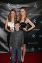 Rylie Beaty, Madisen Breaty, Declan Beaty attends the  Royalty Free Stock Photography