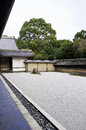 Ryoan-ji temple in Kyoto, Japan. Stock Photos
